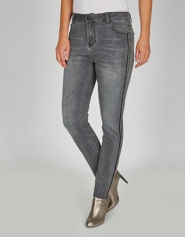 Hosen - Jeans mit Galonstreifen in Normal und Kurzgrößen, 21  - Onlineshop Adler