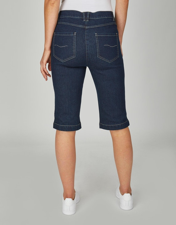 Bexleys woman Jeans-Bermuda mit Strass auf der Gesäßtasche | [ADLER Mode]