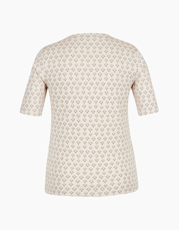 Bexleys woman Elastisches Baumwoll-Shirt mit Phantasiedruck   [ADLER Mode]