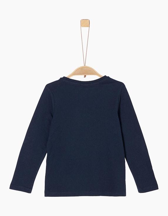 s.Oliver Mini Girls Langarm-Shirt mit Pailletten | [ADLER Mode]