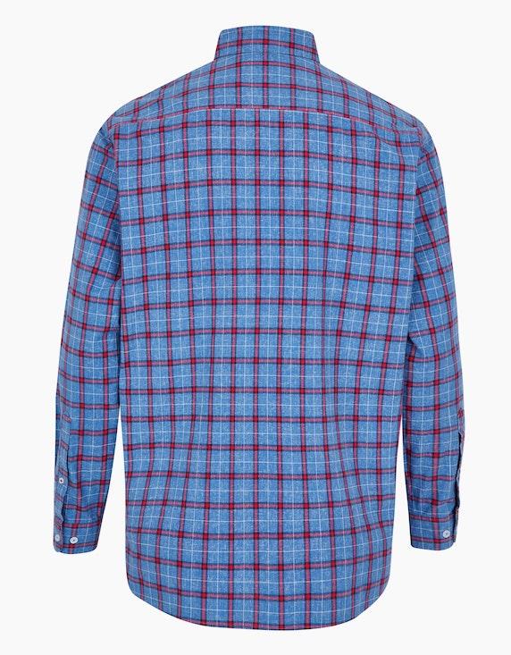 Big Fashion modisches Karohemd in weicher Baumwolle | [ADLER Mode]