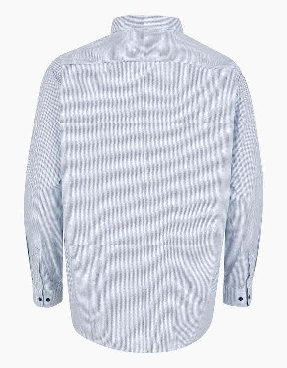 Big Fashion Freizeithemd mit modischem Print und Langarm | [ADLER Mode]
