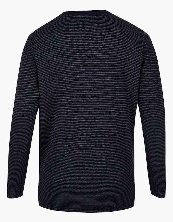 Big Fashion Strickpullover mit feinen Streifen   [ADLER Mode]