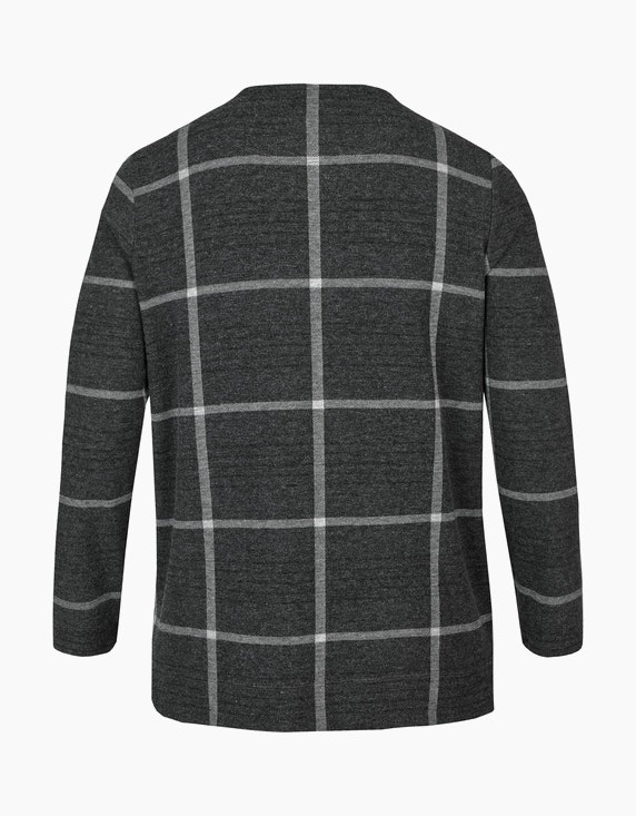 VIA APPIA DUE Kariertes Sweatshirt | [ADLER Mode]
