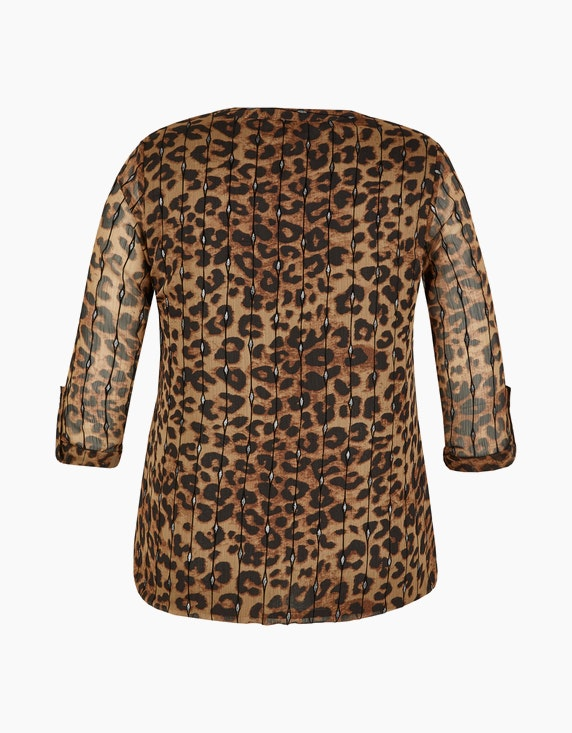 Bexleys woman festliche Bluse mit Animalprint | [ADLER Mode]
