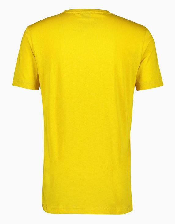 Lerros T-Shirt mit Logo-Stickerei auf der Brust | [ADLER Mode]