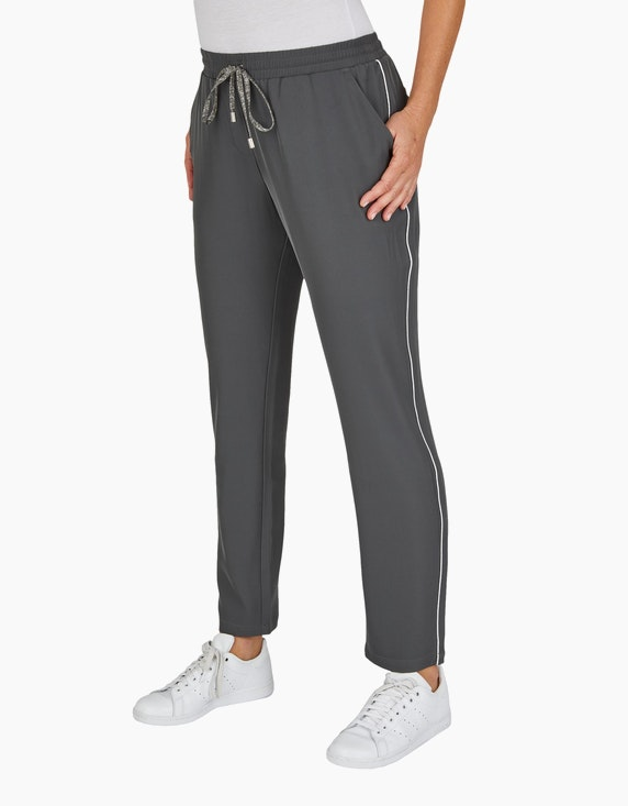 Bexleys woman Joggpants mit Glitzer-Paspel | [ADLER Mode]