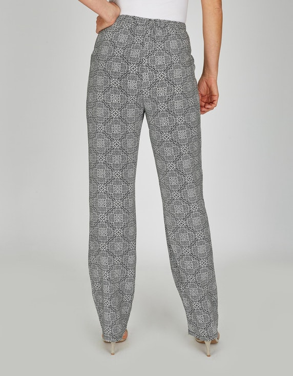 Bexleys woman Palazzo-Hose mit Allover-Print | [ADLER Mode]