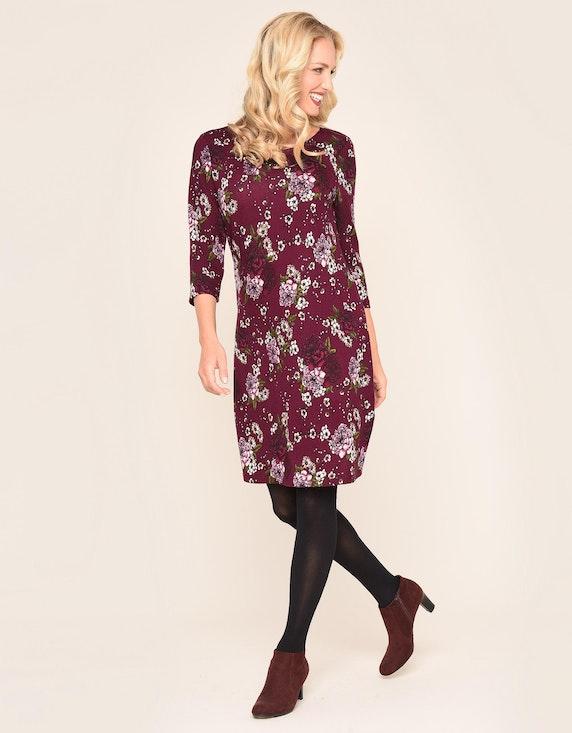 Bexleys woman Strickkleid mit Floraldruck   [ADLER Mode]