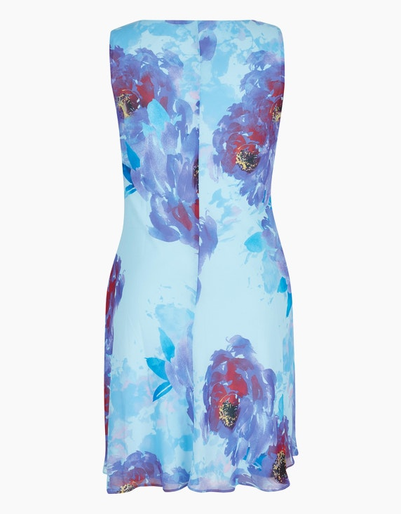 Bexleys woman Kleid in fließender Chiffonqualität | [ADLER Mode]
