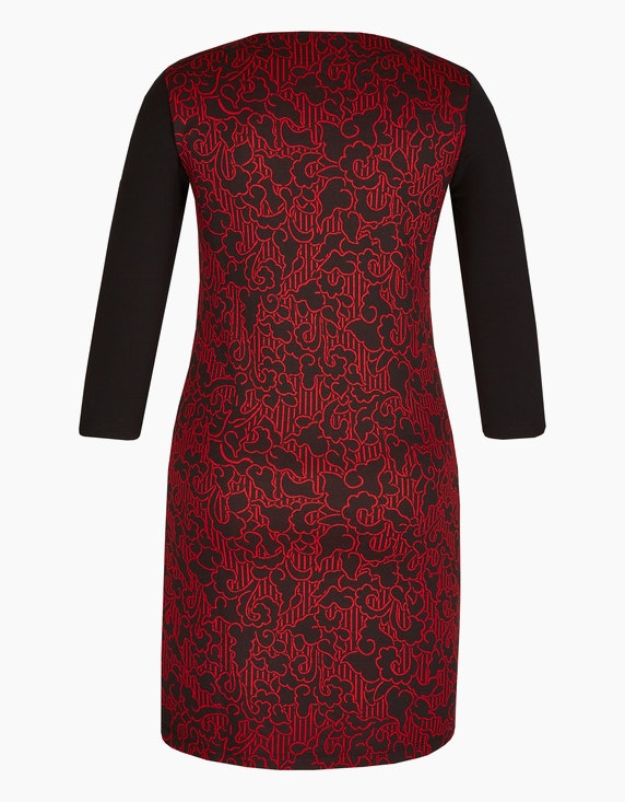 Bexleys woman Jacquard-Jersey-Kleid | [ADLER Mode]