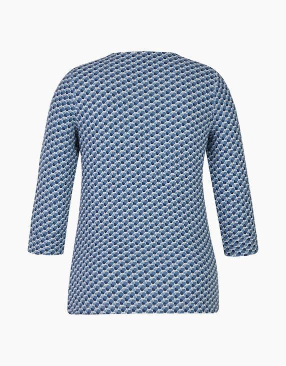 Bexleys woman Shirt mit gerippter Struktur und Strassbesatz | [ADLER Mode]