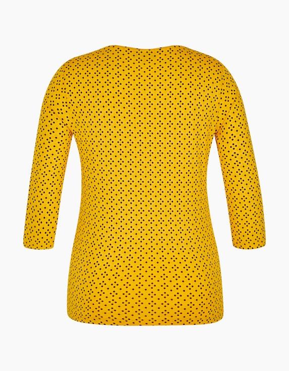 Bexleys woman gemustertes Shirt mit 3/4-Arm | [ADLER Mode]