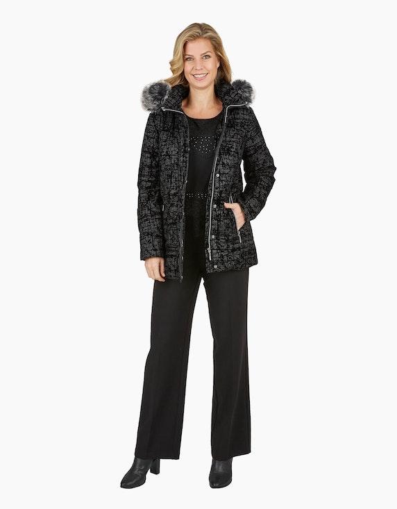 Bexleys woman Langarmshirt mit Materialmix und Spitzenbesatz | [ADLER Mode]