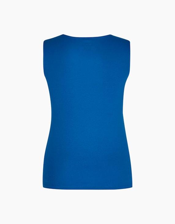Bexleys woman einfarbiges Top aus Organic Cotton | [ADLER Mode]
