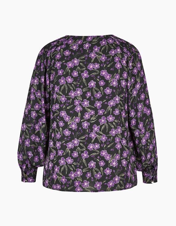 MY OWN Chiffon-Bluse mit Blumendruck | [ADLER Mode]