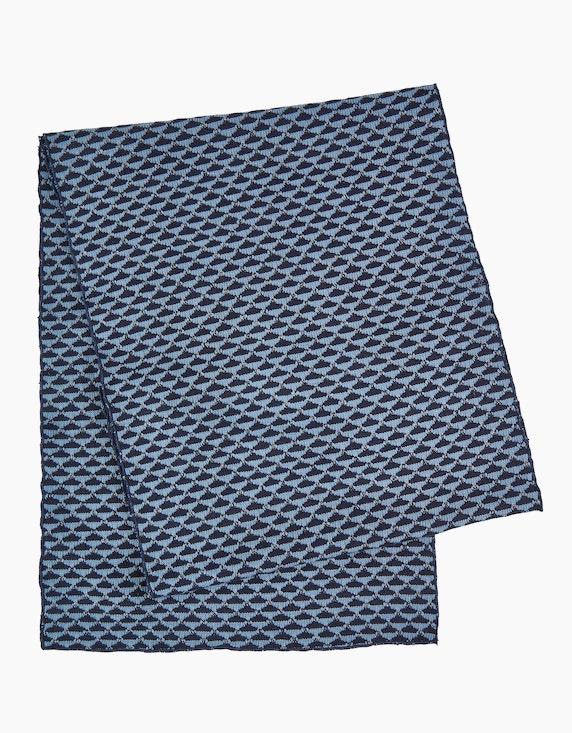 MY OWN Gemusterter Schal mit eingefassten Kanten | [ADLER Mode]
