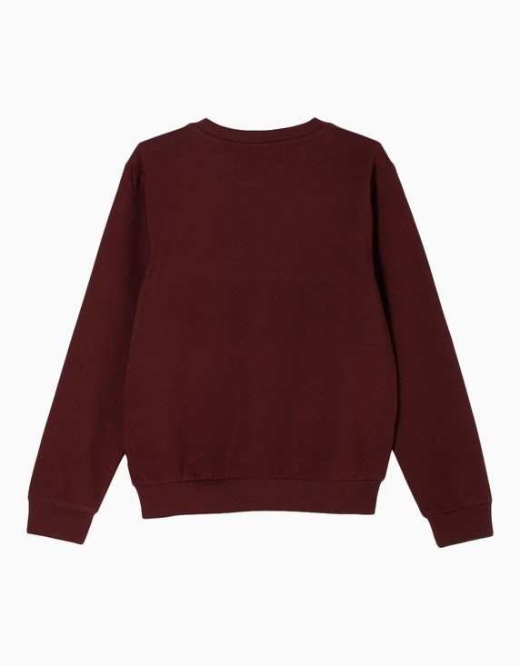s.Oliver Boys Sweatshirt mit gestricktem Wording | [ADLER Mode]