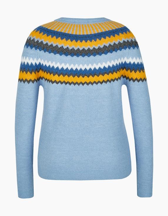 Bexleys woman Pullover im Zick-Zack-Design | [ADLER Mode]