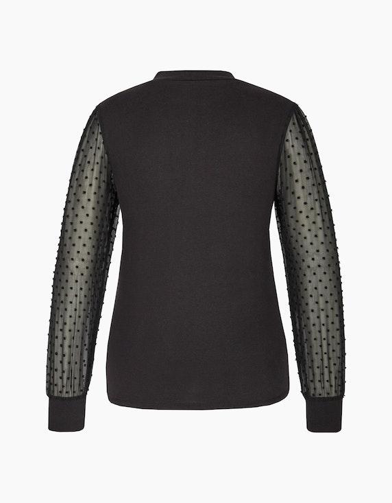 Viventy Shirt mit Chiffon-Puffärmeln | [ADLER Mode]