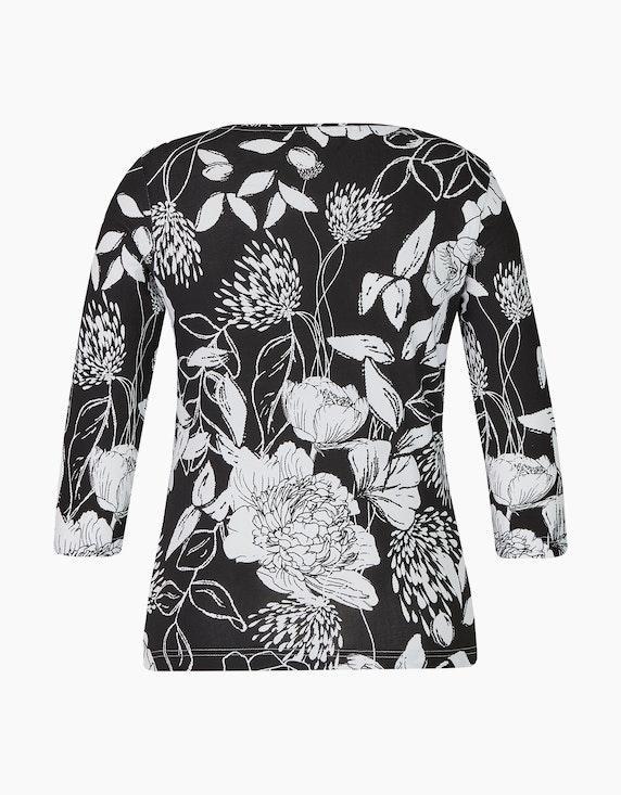 Malva Shirt mit floralem Druck | [ADLER Mode]