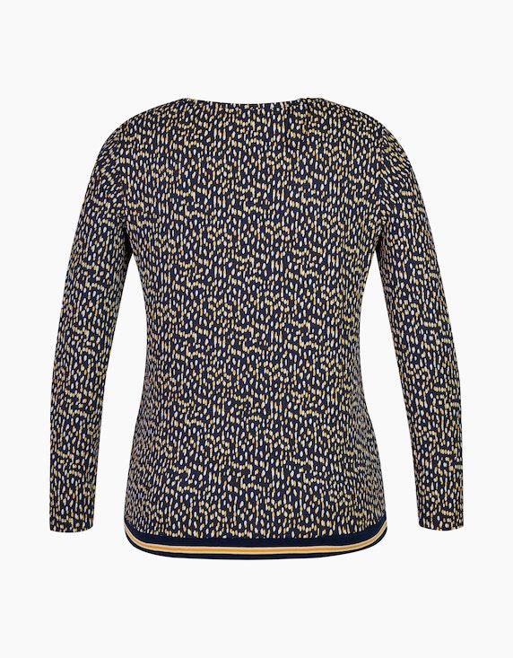 Via Cortesa Jersey-Shirt mit Flecken-Print, Baumwoll-Viskose-Mischung | [ADLER Mode]