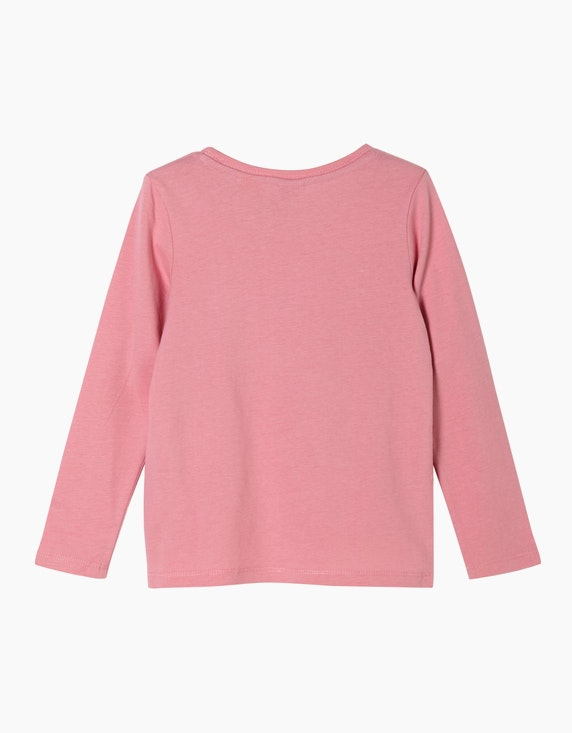 s.Oliver Mini Girls Langarmshirt mit Pailletten | [ADLER Mode]