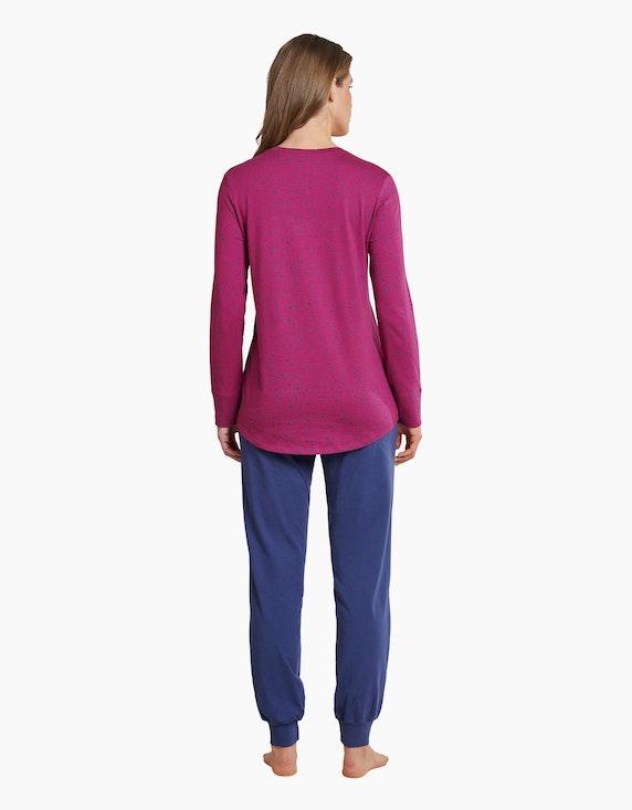 Schiesser langer Pyjama | [ADLER Mode]