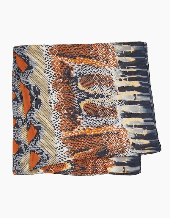 Bexleys woman Breiter Schal im Animalprint | [ADLER Mode]