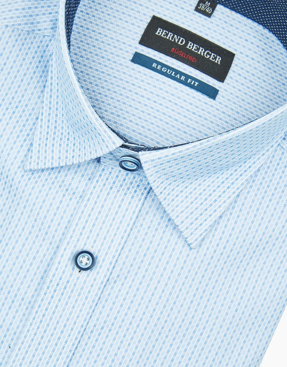 Bernd Berger Dresshemd im Streifen-Dessin in bügelfreier Qualität | [ADLER Mode]