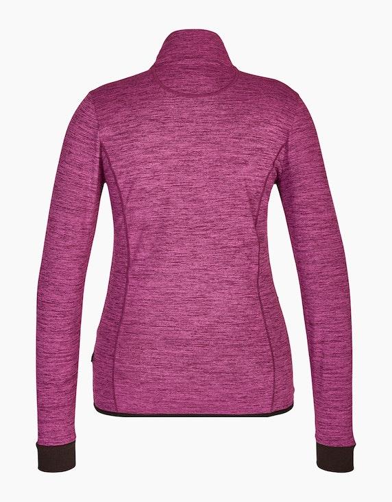 Fit&More Powerstretch Jacke mit breiten Ärmelbündchen | [ADLER Mode]