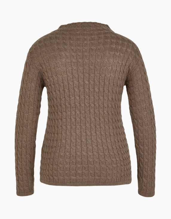 Bexleys woman Strickpullover mit Zopfmuster | [ADLER Mode]
