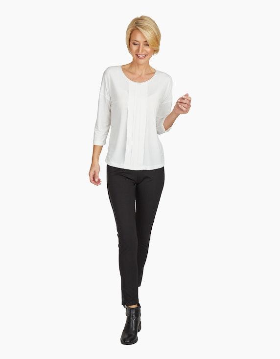 Viventy Shirt mit Kellerfalten und Schmucksteinen | [ADLER Mode]