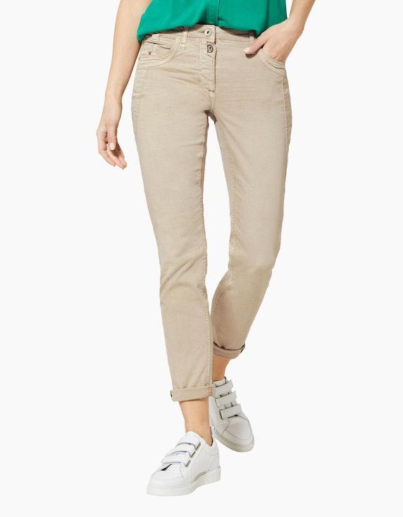 CECIL Colour Denim-Hose, 5-Pocket-Style, Hailey   [ADLER Mode]
