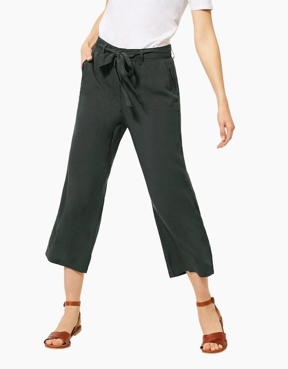 CECIL Culotte-Hose mit Schleifendetail, reine Viskose | [ADLER Mode]