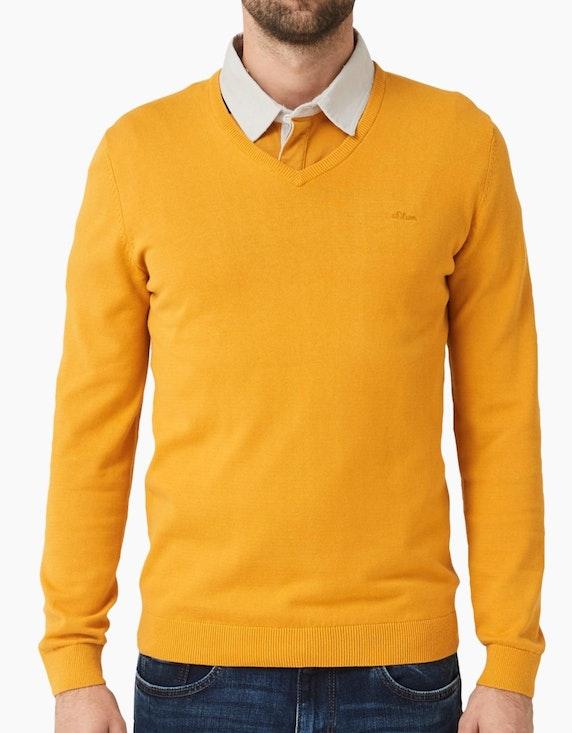 s.Oliver Basic Pullover in verschiedenen Farben   [ADLER Mode]