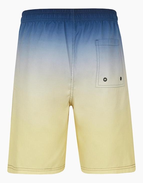 Bexleys man Schwimmshorts im Dip-Dye-Design | [ADLER Mode]