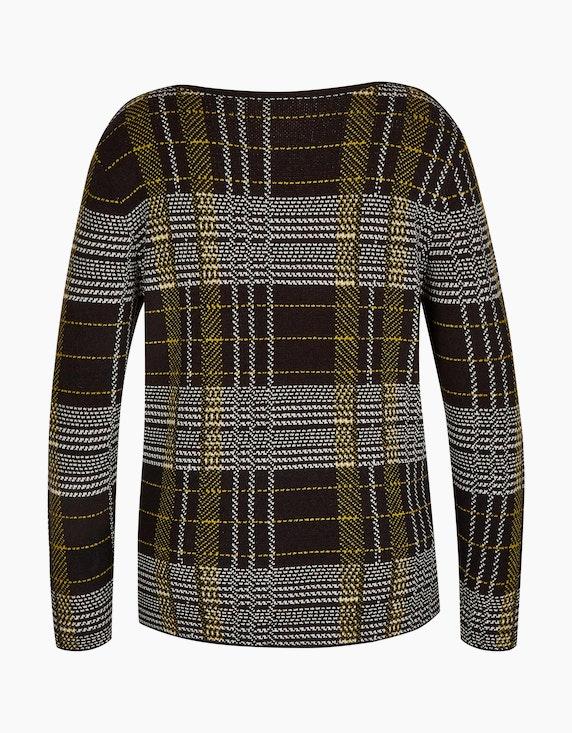 Bexleys woman weicher Pullover im modischen Karo-Dessin | [ADLER Mode]