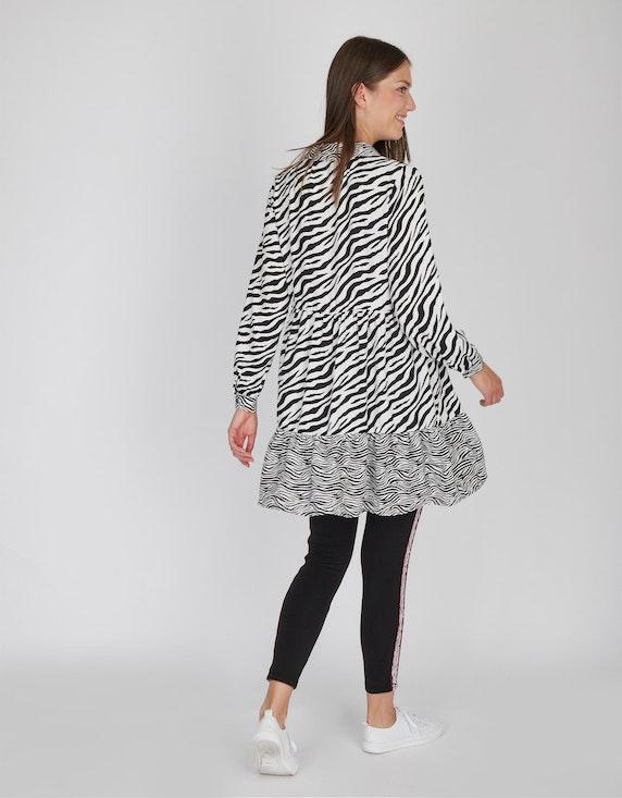MY OWN lange Tunika-Bluse mit Zebra-Muster | [ADLER Mode]