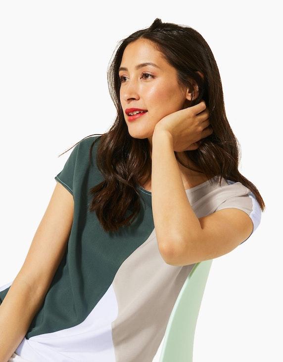 Street One T-Shirt mit Colourblock-Design | [ADLER Mode]