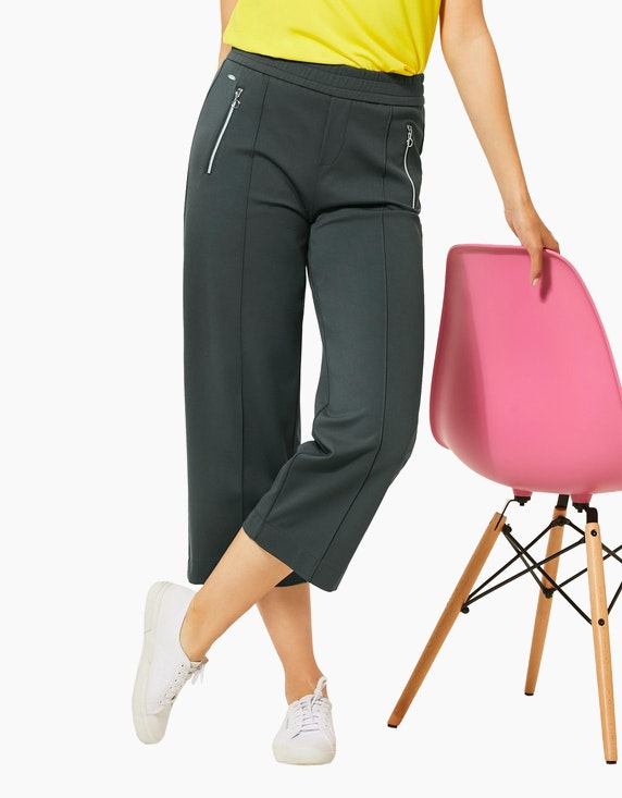Street One Hose mit weitem Bein und Bügelfalte, Emee | [ADLER Mode]
