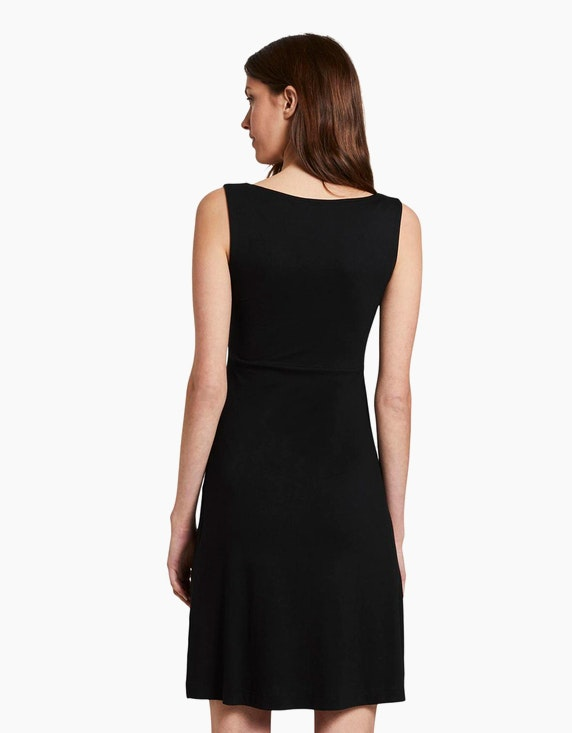 Tom Tailor Jersey-Kleid mit tiefem V-Ausschnitt | [ADLER Mode]
