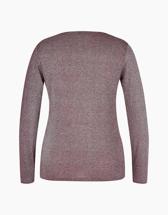 Viventy Glitzer-Shirt mit Knoten-Detail | [ADLER Mode]