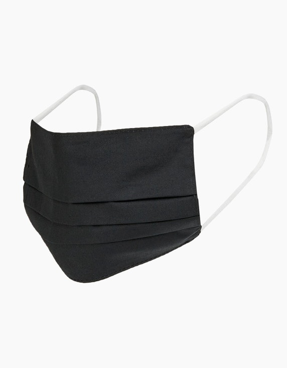 Adler Collection Mund-Nasen-Maske 2-lagig, 2er Pack   [ADLER Mode]