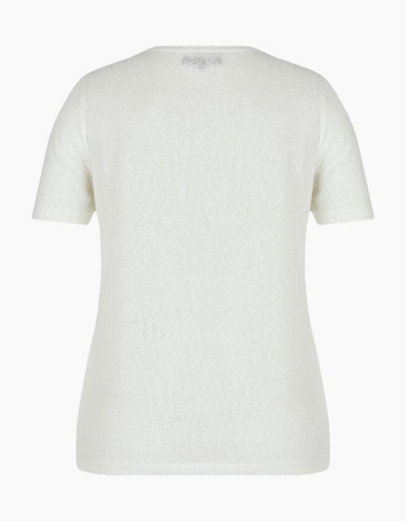 MY OWN Ausbrenner-Shirt mit Gesicht aus Glitzerfaden | [ADLER Mode]