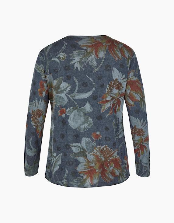 Thea Shirt mit Front-Herz-Print und Glitzereffekt   [ADLER Mode]