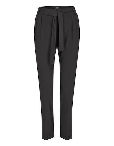 bexleys woman - Hose mit Gürtel und Kugelketten-Besatz, 40