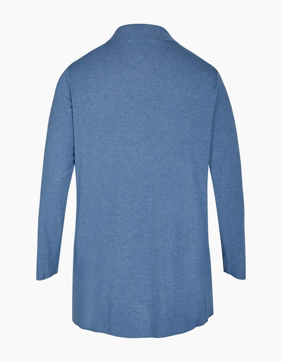 Thea Feinstrick-Jacke in Melange-Optik, Woll-Viskose-Qualität   [ADLER Mode]
