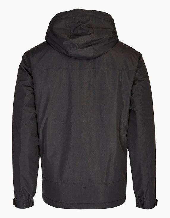 Eibsee Jacke mit Fleece-Kapuze und Details | [ADLER Mode]