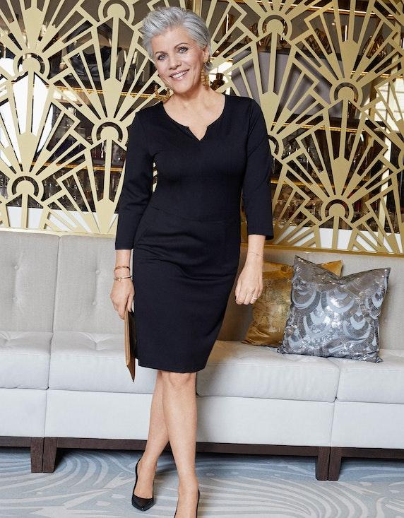 Birgit Schrowange Kollektion Jerseykleid mit Taschen | [ADLER Mode]
